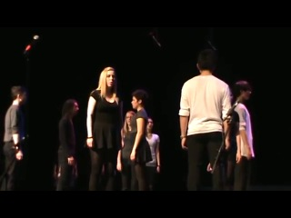 Wendy with Richmond Hill High School's Vocal Fusion for National Show Choir Championships 2011