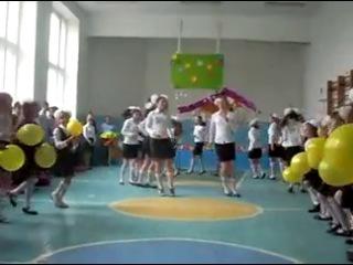 Флешмоб в Осівецькому НВК =))