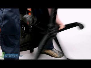 Как разобрать крестовину, газлифт и механизм у офисного кресла