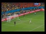 Серия пенальти в матче Нидерланды - Коста-Рика (чемпионат мира по футболу 2014)