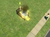 страшная смерть симса в  игре The sims 2