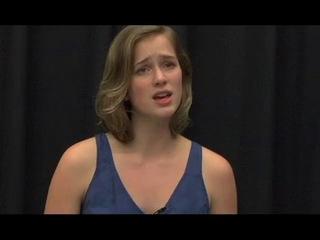 Elizabeth Lail: Прослушивание на роль Козетты из «Отверженных»