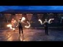 Выступление ИКРФ За Гранью (Fire show) в ресторане-баре Печки-Лавочки г.Балаково 27.06.2014
