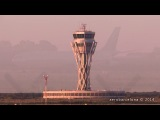 UTair Aviation 767-300 NEAR MISS GO AROUND at Barcelona-El Prat