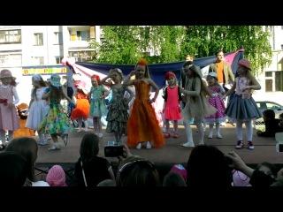 Танец Я Модница детки 5-6 лет