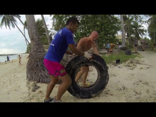 Экологическая акция по уборке пляжа на Самуи. World CleanUP 2014 Let's do it! Samui Thailand