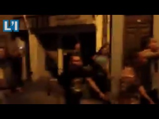 Les paras du 3 fêtent la victoire de l'Allemagne avec Carcassonne nationaliste