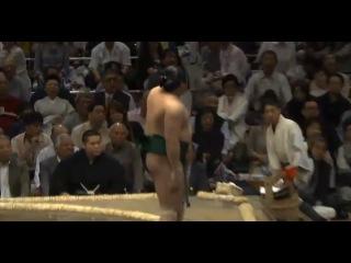 Sadanoumi vs Chiyonokuni Day 1 Sumo Natsu Basho May 2014