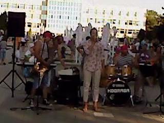группа KOORAGA (Жанна Агузарова-Жёлтые ботинки, Анапа 28 июня 2014г)