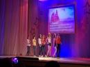 Танец 11 классов на выпускном
