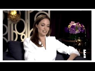 Анджелина Джоли рассказала о том, как проходил первый день Вивьен на съемках фильма «Малефисента»