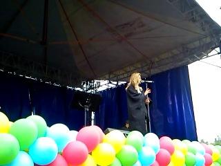 Концерт певицы Глюк'oZы-ТАТАРО-БАШКИРСКИЙ