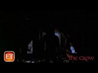 The Crow Throwback Brandon Lee's Eerie Final Exclusive Interview