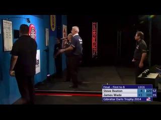 Steve Beaton vs James Wade (PDC Gibraltar Darts Trophy 2014 / Final)