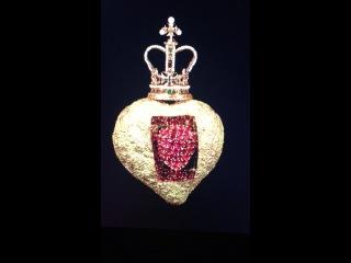 Бьющееся сердце Сальвадора Дали. Ювелирное украшение.
