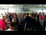 Gay Stripper, Tommy Defendi Performing on Peter Burke's Tea Cruise