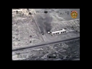 Ирак 23 июнь 2014 провинция Салах эд Дин удар ВВС по нефтеперерабатываещему заводу в городе Байджи