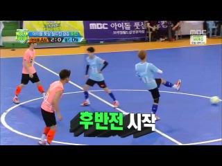 [VIDEO] 140612 Xiumin Luhan @ MBS Futsal Idol Cup 4 (Final A VS D)