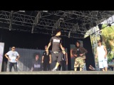 Freestyle on stage 2014 HD - Les Twins, Salah, Fabreezy, P Lock, Swan, Kris
