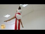 Полотна/Танец на полотнах(air dance) Кучмистова Марина