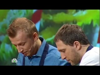 Кулинарный поединок Ведущий Антон Комолов vs шеф повар Массимилиано Монтироли