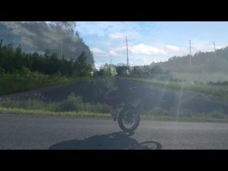 Suzuki Djebel 200 vs Honda dio 27