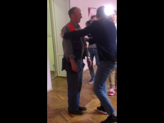 Иван Ургант в гимназии при грм