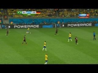 Бразилия 1:7 Германия. полный матч 08.07.14