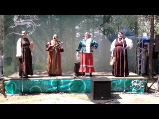 бажовский фестиваль 21.06.2014 АНСАМБЛЬ СВЯТО-ГЕОРГИЕВСКОГО ХУТОРА