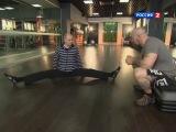 Хатха-йога, поперечный шпагат 1