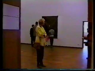 Exhibition 'Timur Novikov', Stedelijk Museum Amsterdam. 1993.