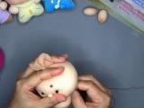 Идеи для творчества. Куклы из чулок. Новые идеи.