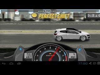 Drag Racing. Career Stock. 1 level Volkswagen Scirocco R