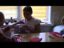 Летний лагерь для девочек 2014 год. Тема ЦЕЛОМУДРИЕ. Мастер-класс Анны Сосниной.