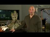 Стражи галактики — Вин Дизель в роли Грута и реактивный Енот! (HD) Vin Diesel
