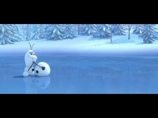 Холодное сердце. Снеговик и олень. Трейлер.