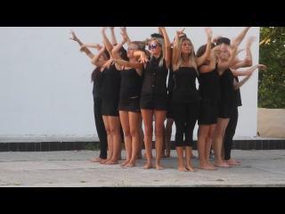 танец вожатых 2 смена 2014