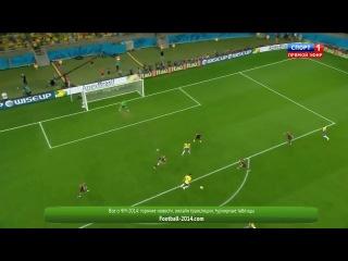 Бразилия - Германия 1-7 FIFA World Cup 2014,1/2