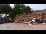 Ополченцами отбито нападение на блок-пост. Донбасс. Новороссия. АТО