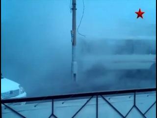 Пассажиров автобуса обдало кипятком в Красноярске