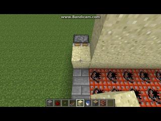 Minecraft 1 6 2 Механизмы ловушки и баги Часть 19 Песочный Дробовик