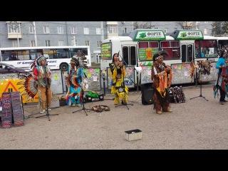 Индейцы в УФе 13 и 15 августа 2014 округ Галле (22)
