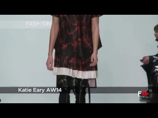 KATY EARY London 2014 2015 Menswear Autumn Winter