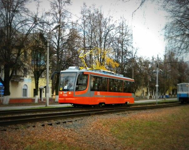 функционирующий трамвай