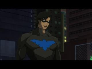 [Озвучка] Сын Бэтмена | Son of Batman (2014) Спасибо - ZM-SHOW