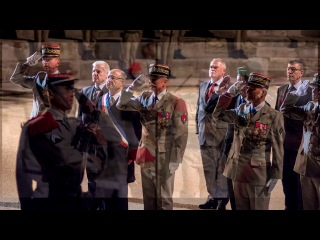 Comémoration Histoire de la bataille de Camerone 1er REC Legion étrangère Orange 2014