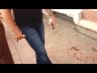Первые минуты после ДТП с автобусом 181 на Невском проспекте, видео очевидца