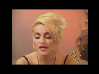 Madonna On Dick Tracy