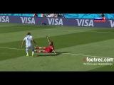 Обзор матча Аргентина 1-0 Иран 21.06 Чемпионат Мира 2014 Аргентина - Иран
