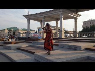 Певица из Польши Моника Музыкальное лето 2014 Улан-Удэ